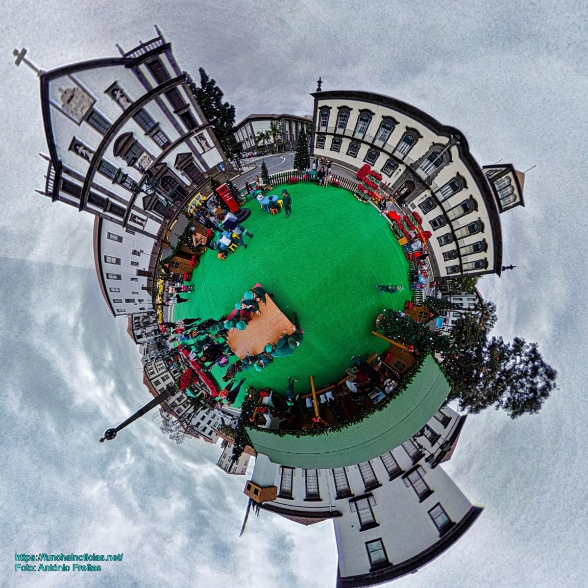 """Fotos  Panorâmicas e 360º da """"Aldeia Natal"""""""