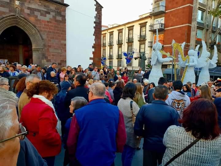 Missa do Parto na Sé do Funchal com cantares tradicionais