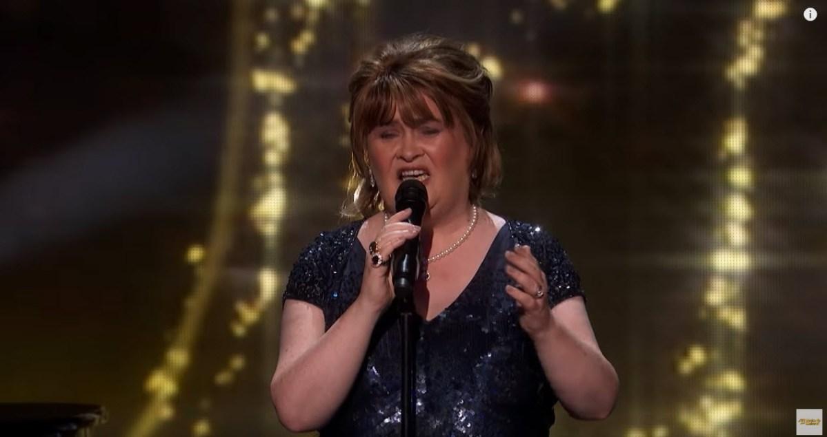 America's Got Talet: The Champions - Susan Boyle voltou 10 anos depois e ganhou o botão dourado [video]