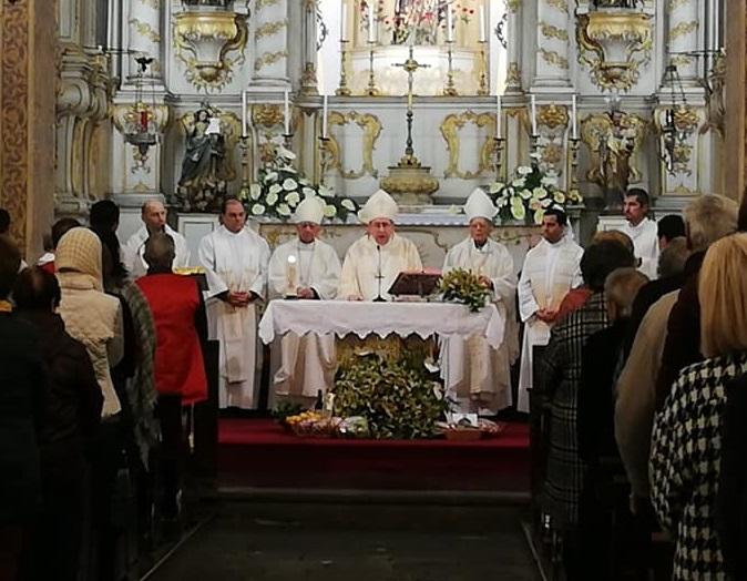 Três bispos em Santo António nos 90 anos da morte da madre Virgínia