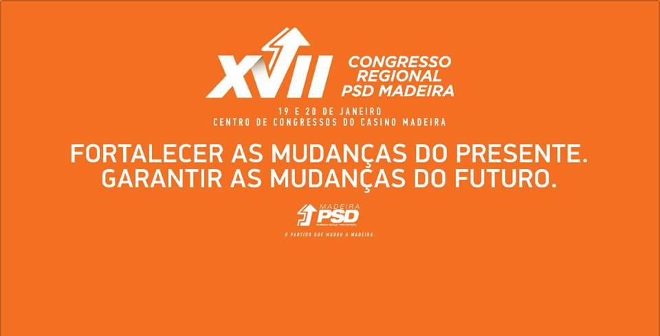 Seis moções sectoriais serão debatidas no congresso regional do PSD-Madeira