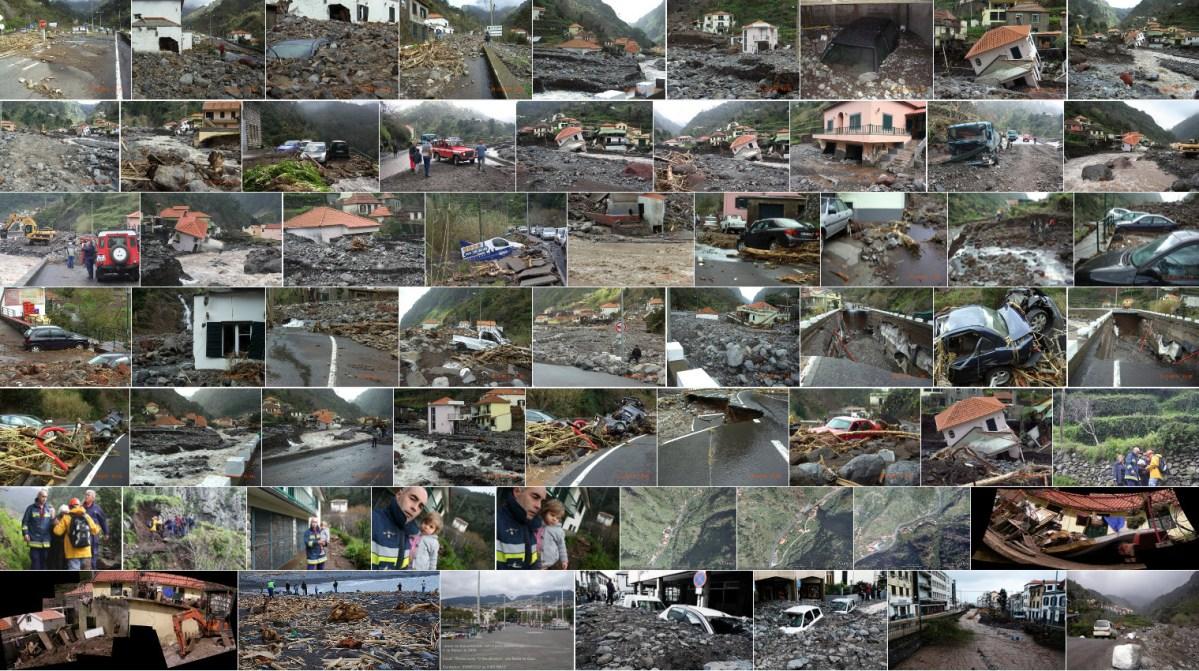 Imagens dos acontecimentos de 20 de fevereiro de 2010