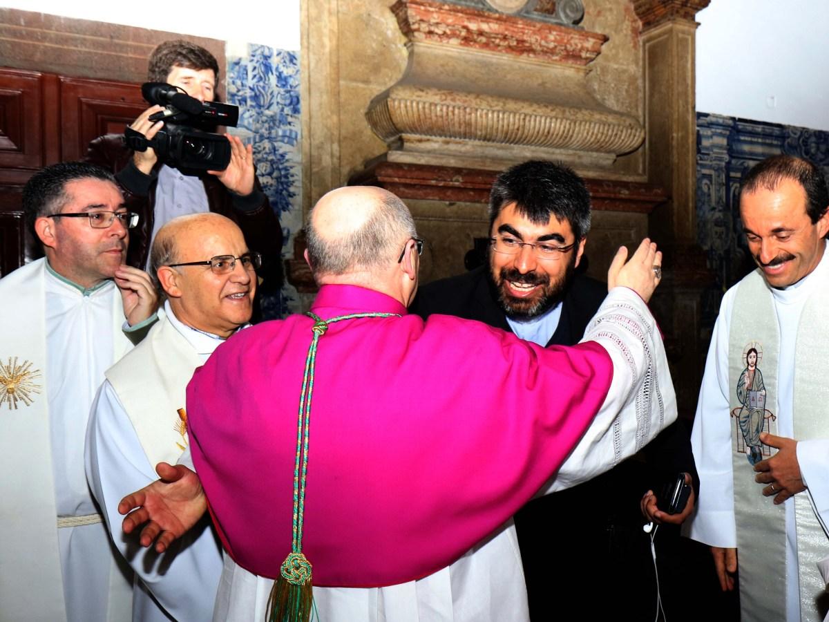 Aquele abraço!... do novo bispo do Funchal ao Pe. Giselo