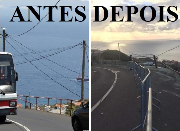 Antes e depois...