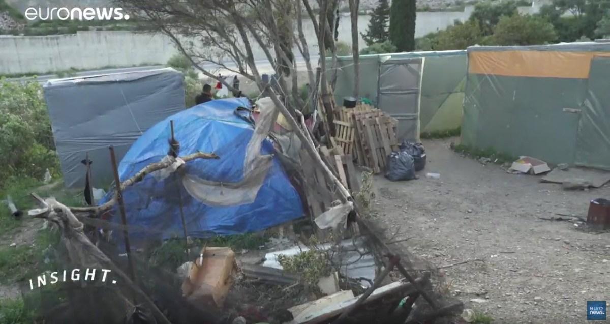 No meio das ratazanas, migrantes sonham com vida melhor [vídeo]