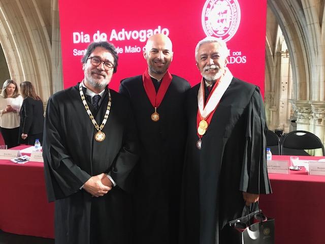 Ordem entrega Medalha de Honra ao advogado madeirense Paulo Gouveia e Silva