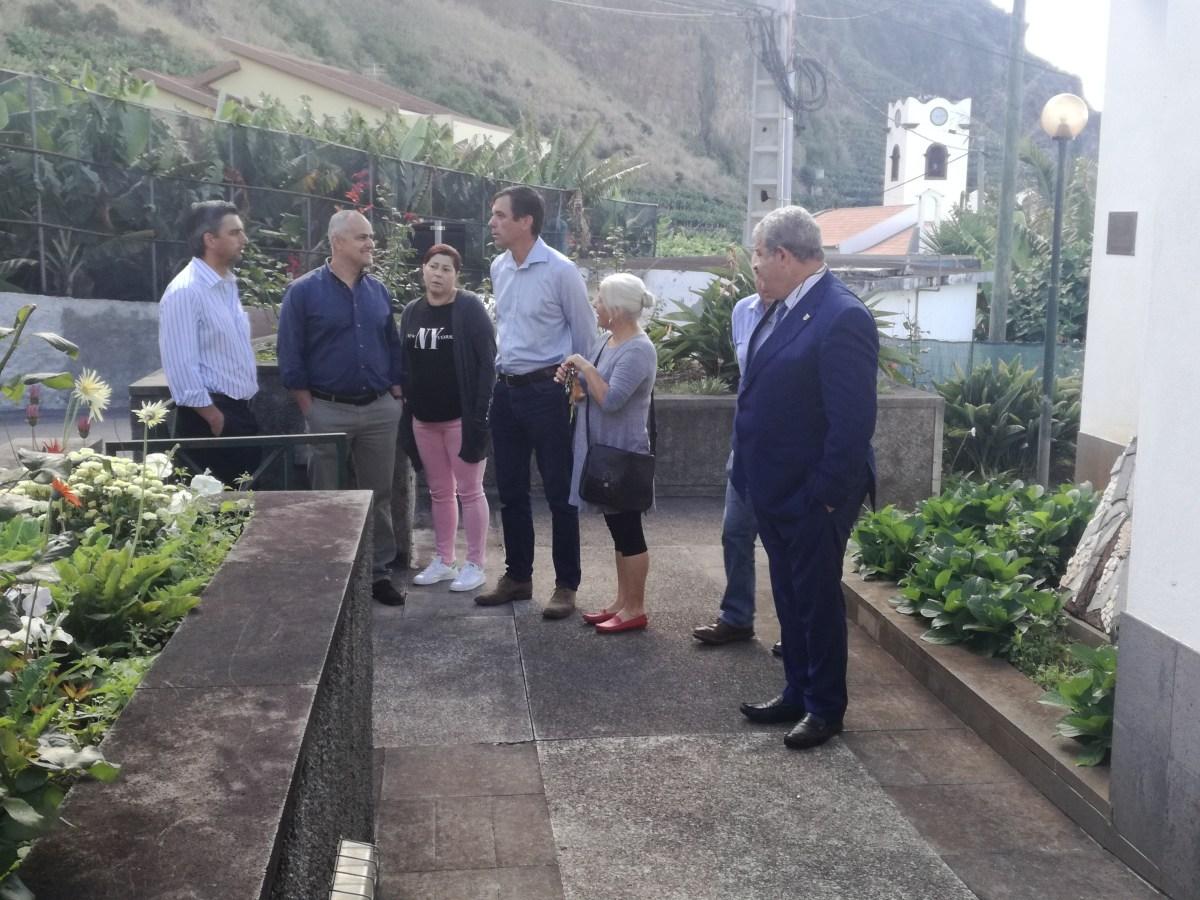 Pedro Ramos foi à Madalena do Mar anunciar reforço de enfermagem no Centro de Saúde