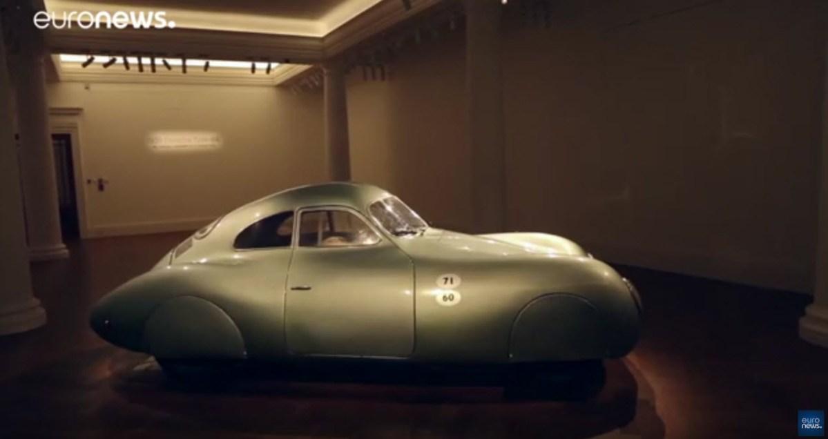 Primeiro Porsche vai a leilão [vídeo]