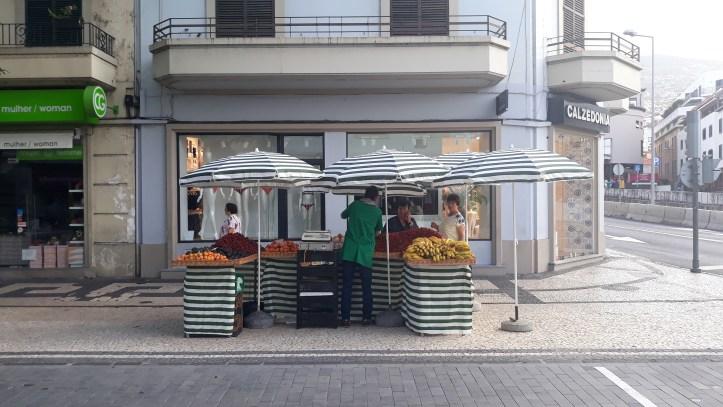 Banca de fruta Funchal