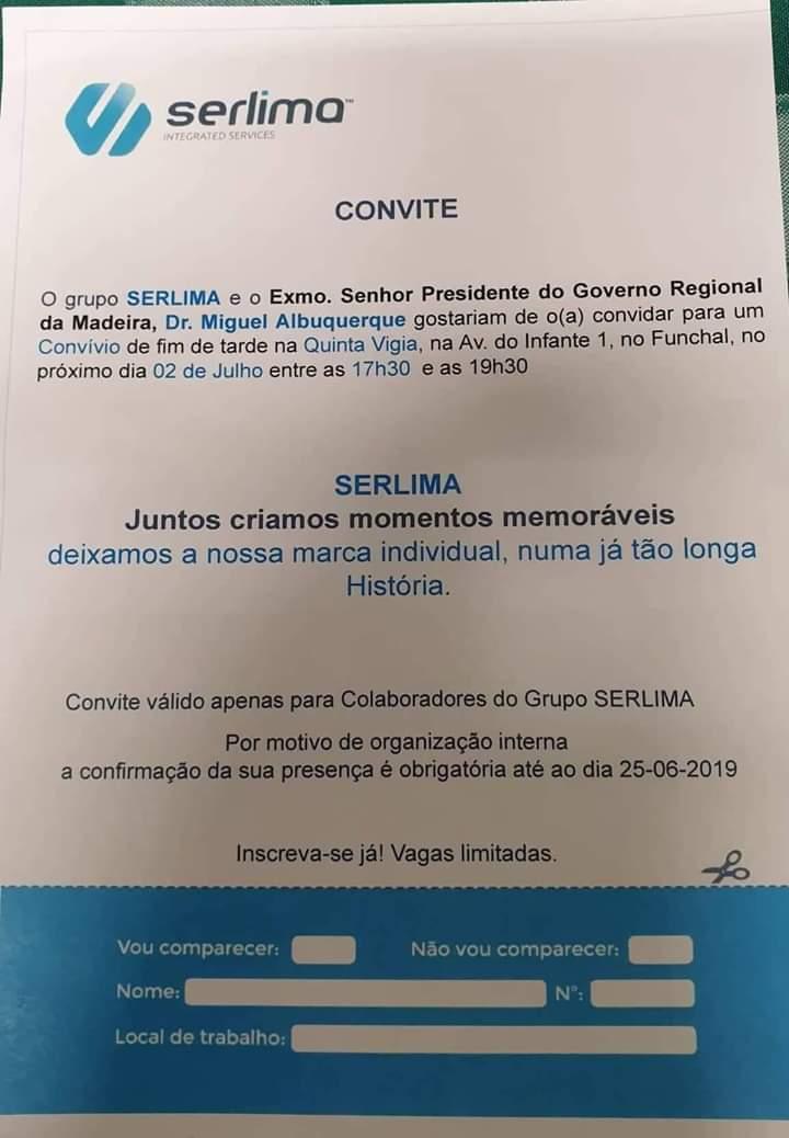 SERLIMA convite A