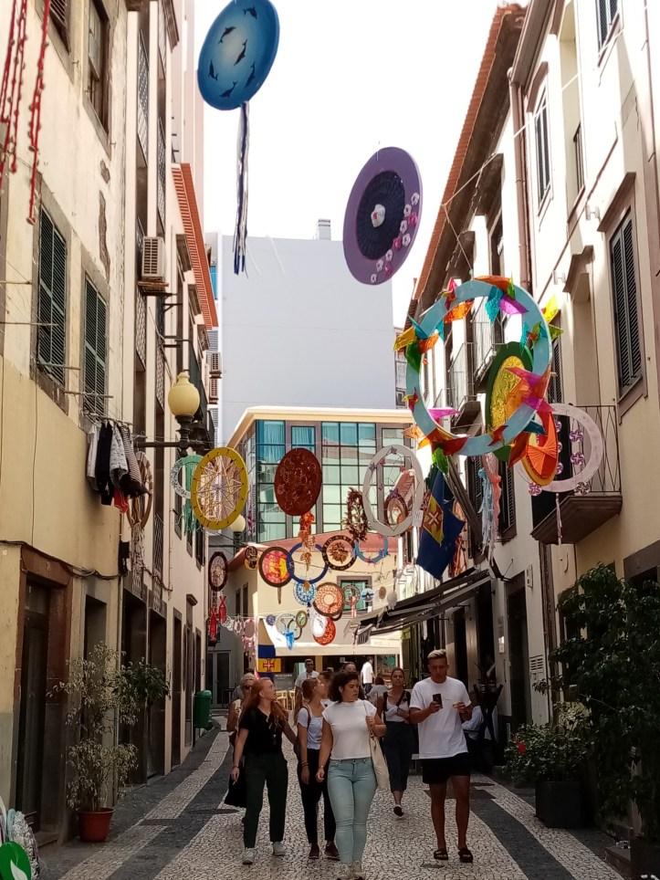Funchal ruas ornamentadas