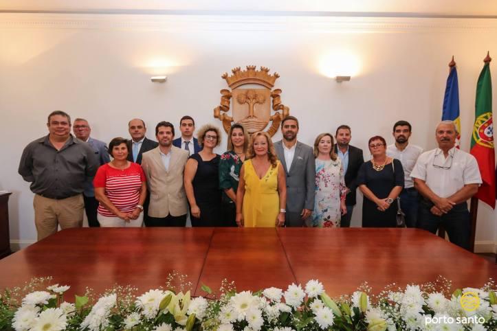 Assembleia Municipal do Porto Santo Membros-AMPS