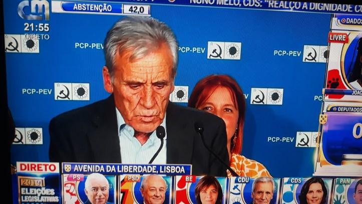 Jerónimo Sousa CDU 6 de outubro
