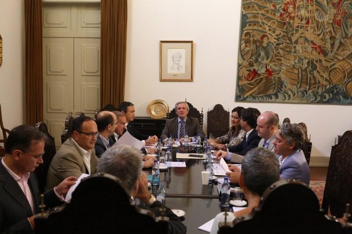 Reunião Representantes dos Partidos