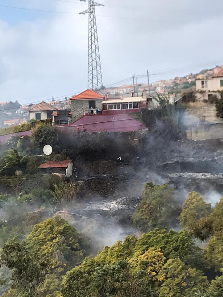Incendio Lombo de São João