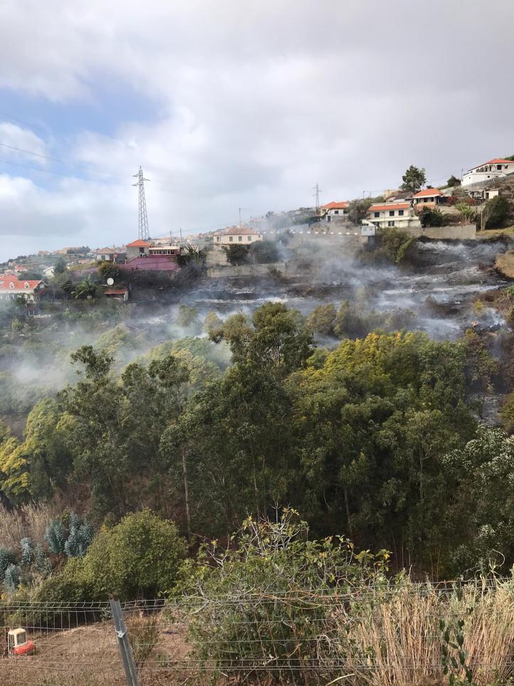 Incendios Lombo de São João P. Sol