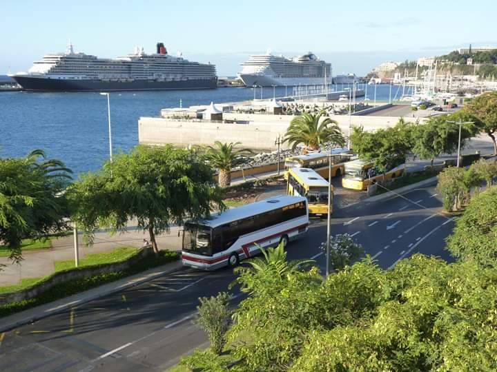 Porto do Funchal a 8 de novembro de 2019