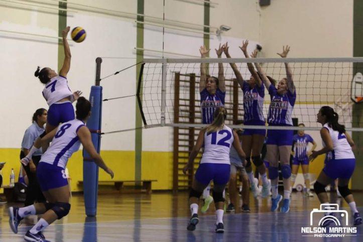 Voleibol CS Madeira jornada dupla 22 de novembro