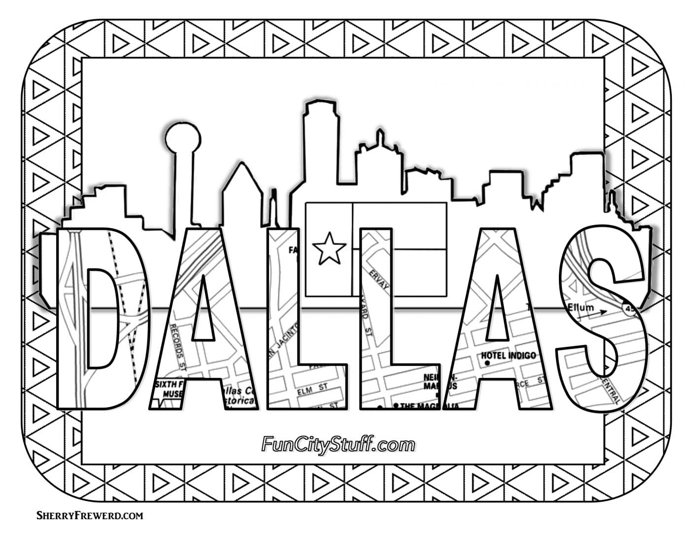 20 Skyline Coloring Page Easy Ideas And Designs
