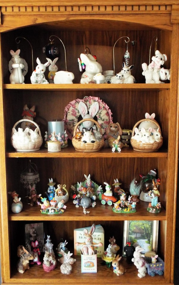 Happy Bunny-filled Colorful Easter And Spring