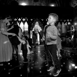 Rosa Steven Peckforton Castle Dance Floor