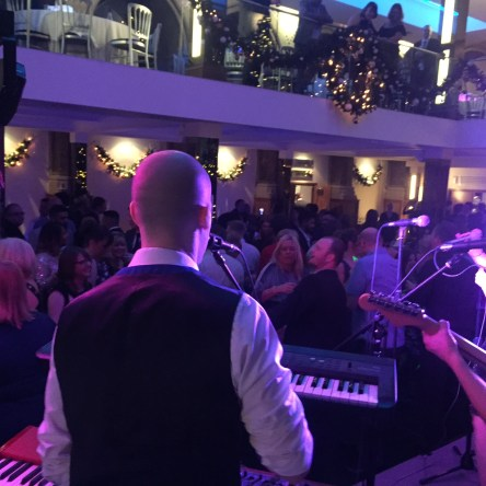 Christmas Party Aspire Leeds Live Music Dance Floor