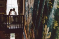 Bride and Groom Delbury Hall