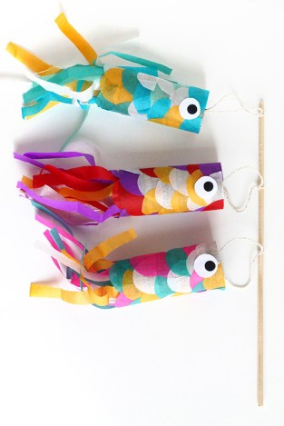 Servizi igienici per disabili Flying Fish koinobori