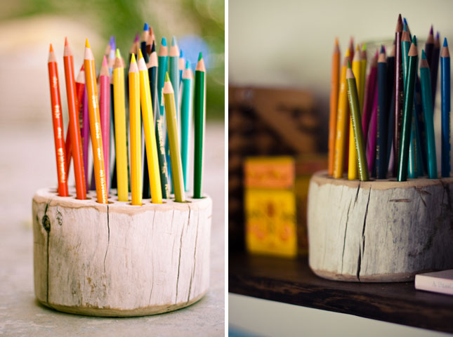 DIY Rustic Pencil Holder Fun Crafts Kids