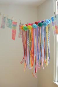 Make your own ribbon chandelier - Fun Crafts Kids