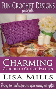 The Charming Crocheted Clutch Pattern on Amazon