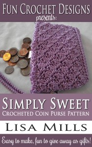 The Simply Sweet Crocheted Coin Purse Pattern on Amazon