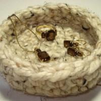 Crocheted Jewelry Tray