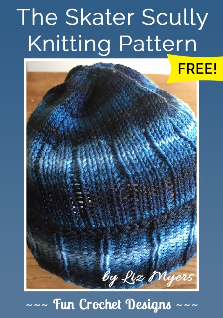 The Skater Scully Knitting Pattern