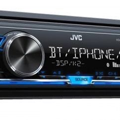 Jvc Wiring Diagram Car Stereo Msd 6al Chevy Kd X240bt In Dash Receivers Usa Products X240btk Angle