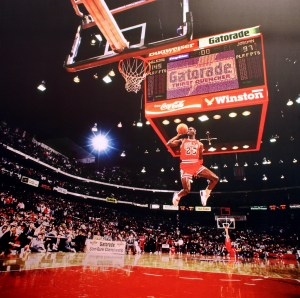 Michael Jordan the standard by which all Shooting Guards are compared (Photo Source: Cliff)