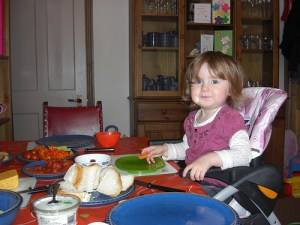 Nutrition for children starts from a very early age so that it falls in line with their parents example (Photo Source: Andy Bullock)