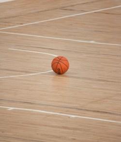 Basketball Court featuring Ball