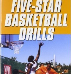 Five-Star Basketball Drills Front Bookcover