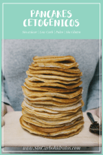 Pancakes Sin Harina | Cetogénicos, Low Carb, Paleo, Sin Gluten