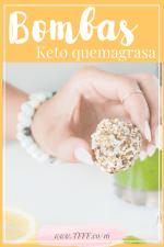 Bombas de Grasa de Cacao, Coco y Almendras | Dieta Cetogénica o LCHF