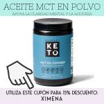 4aceite mct en polvo ximena de la serna perfect keto the functional force
