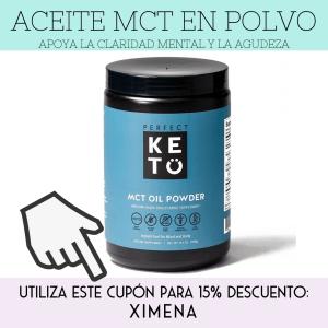aceite mct en polvo ximena de la serna perfect keto the functional force
