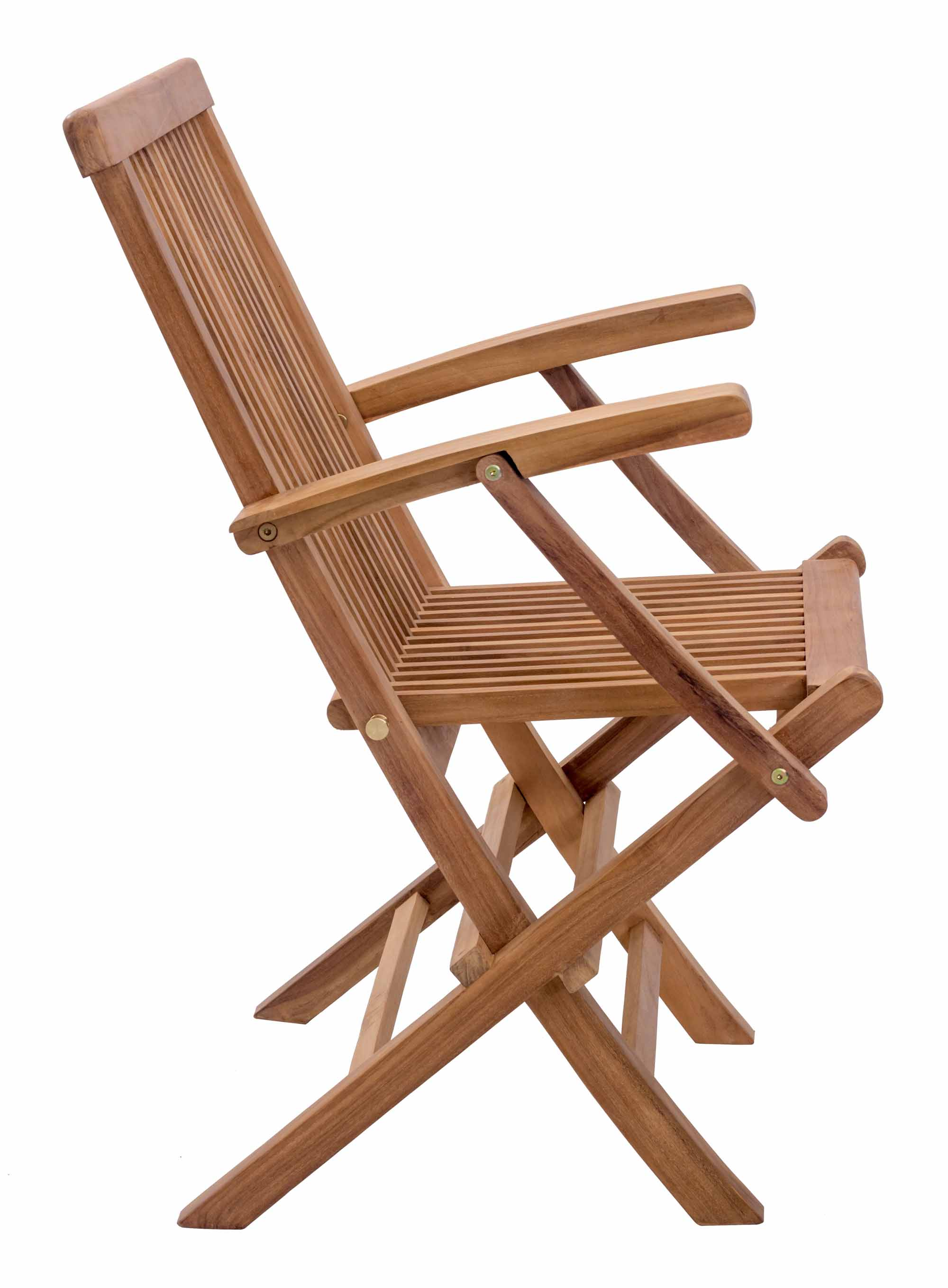 Folding Arm Chair Regatta Folding Arm Chair Natural Set Of 2 By Zuo Modern