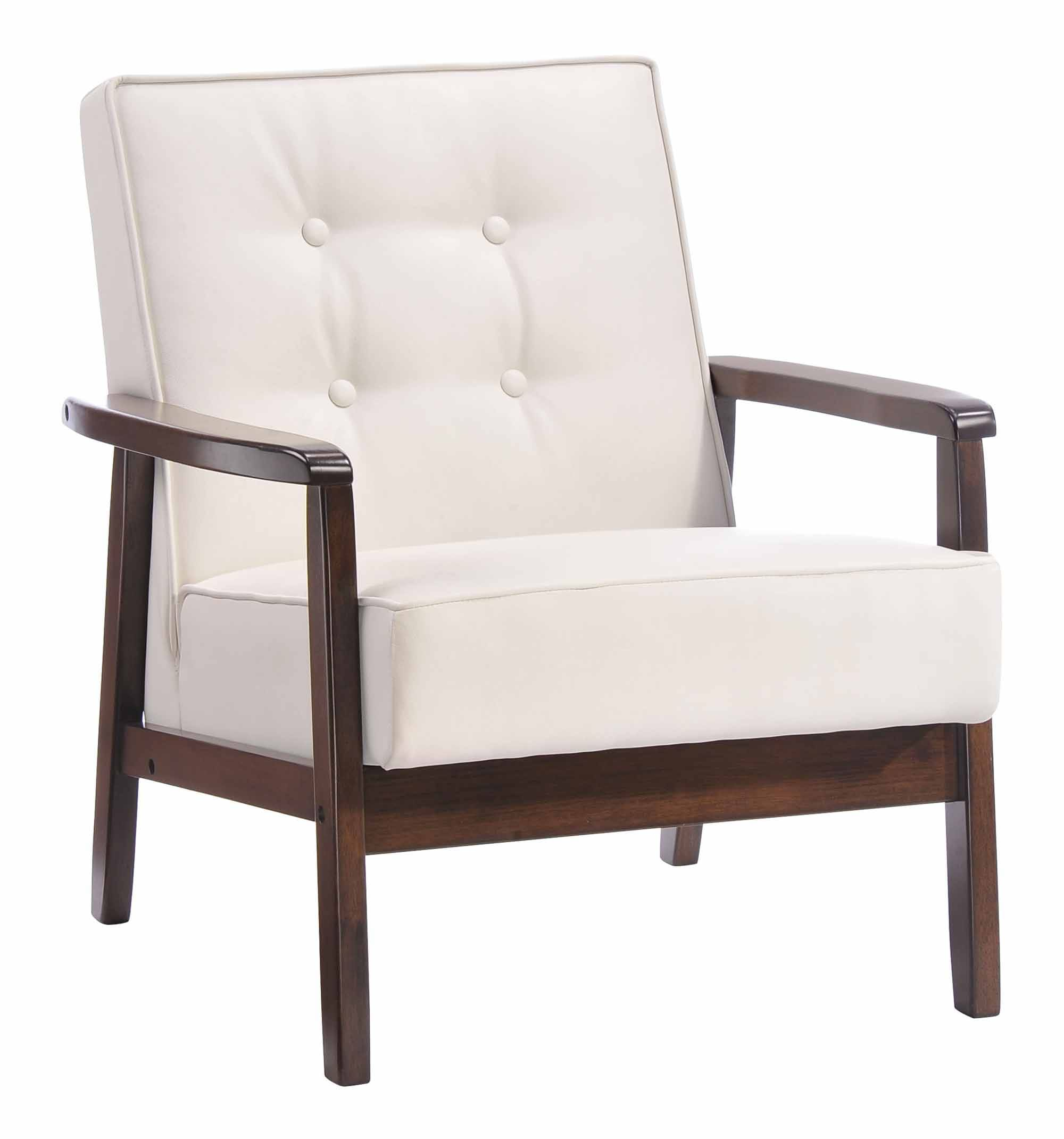 White Arm Chairs Aventura Arm Chair White By Zuo Modern