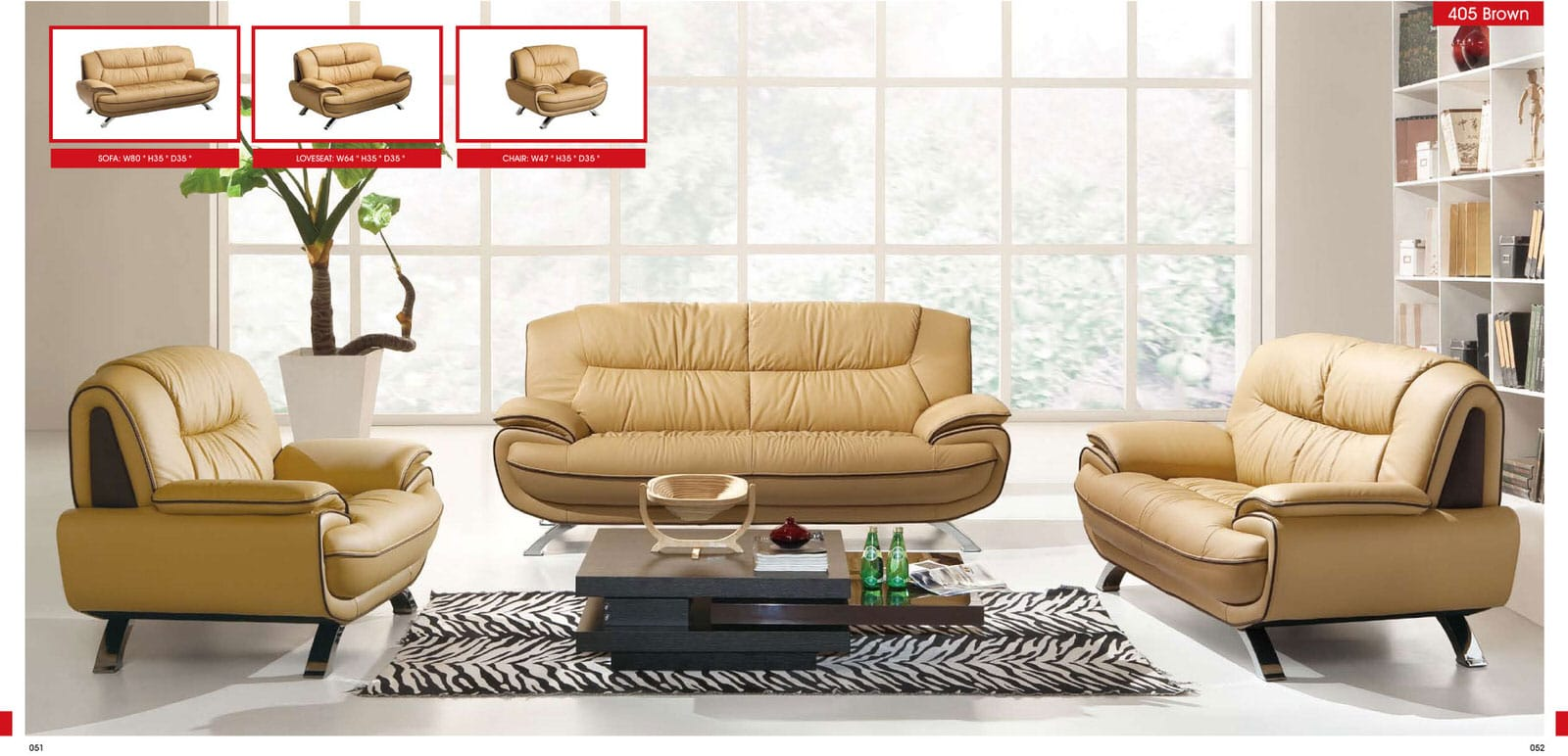 Oversized Living Room Chair 405 Brown Leather Sofa Set By Esf