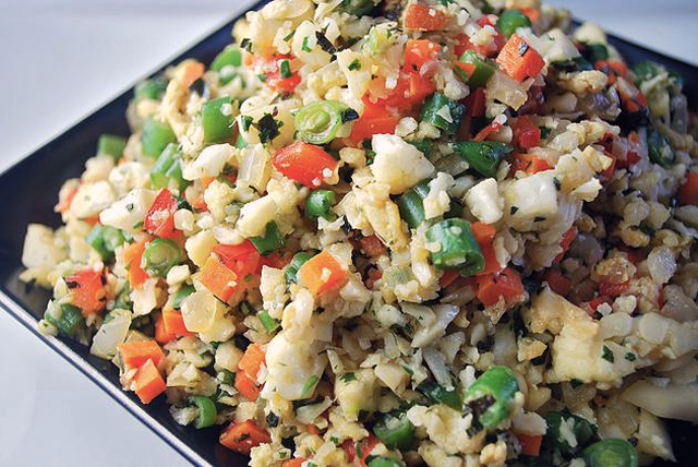 Grain Free Cauliflower Fried Rice