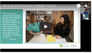 how to get paid as a health coach
