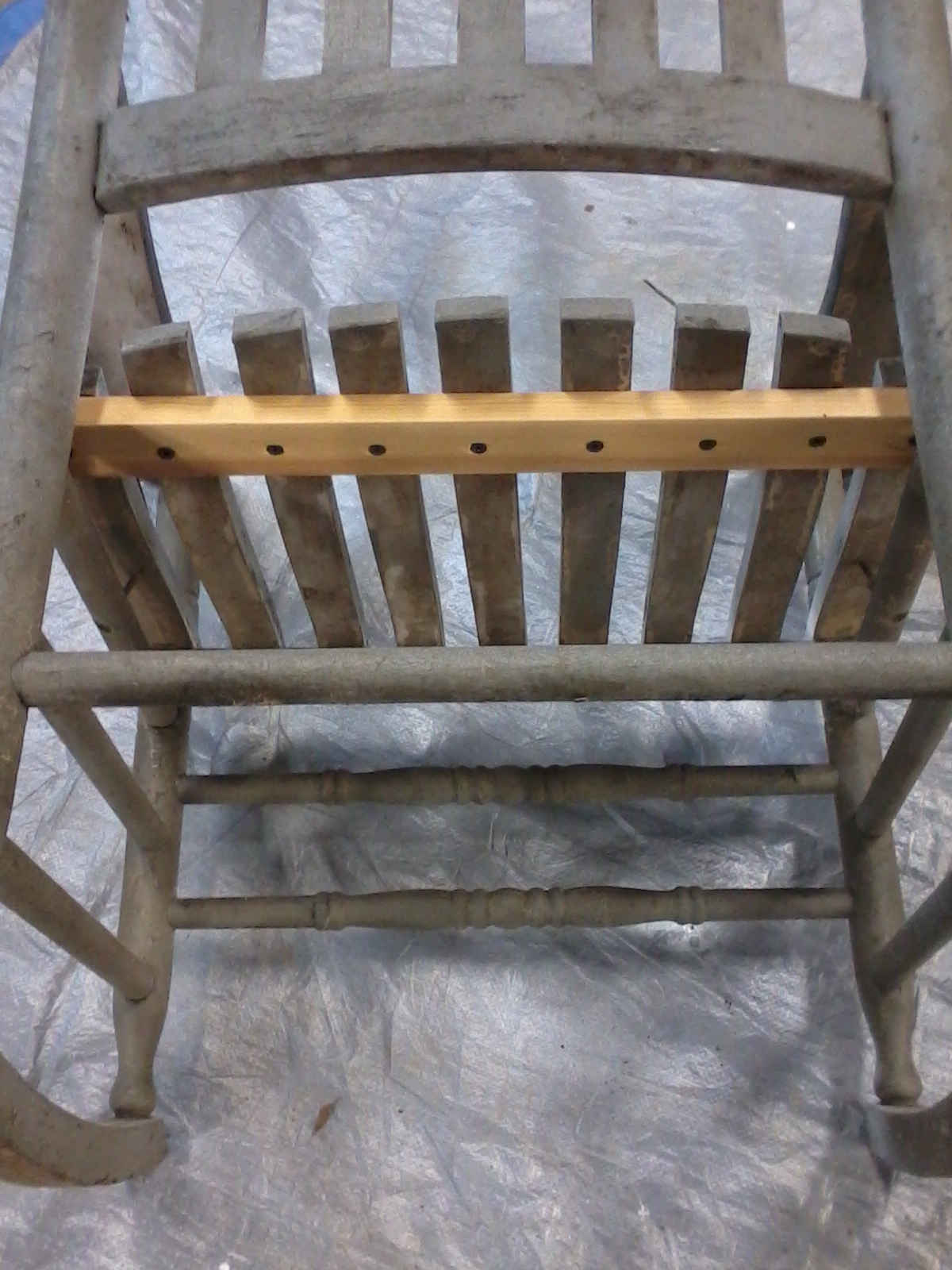 aunt priscilla has a rocking chair big joe dorm bean bag antique make over  funcycled