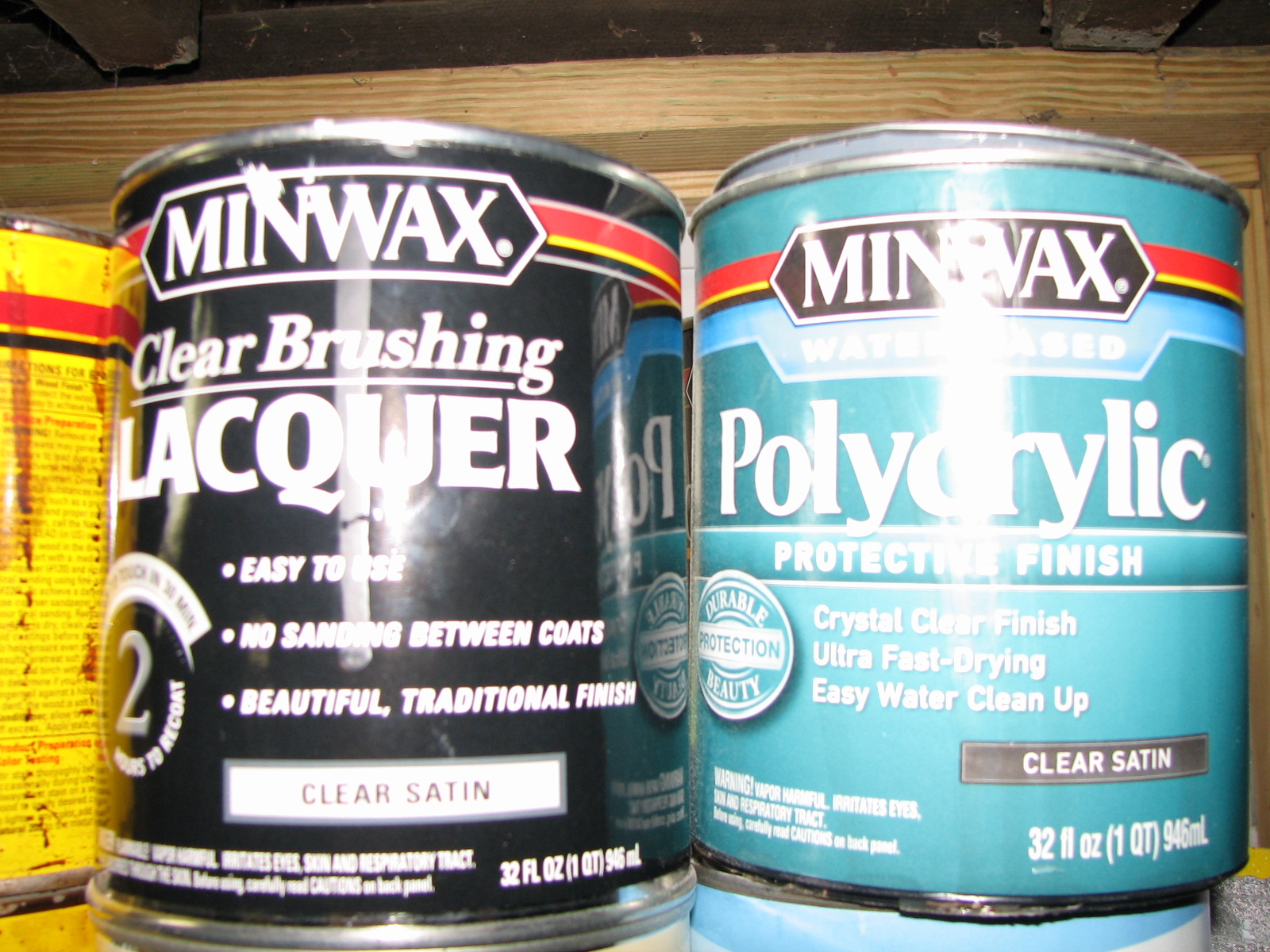 Minwax Polycrylic Spray Reviews